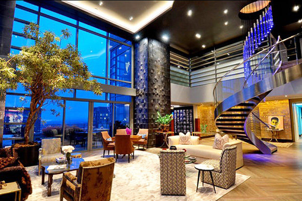 luxury penthouse